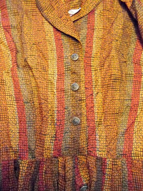 Silk Shirtwaist Dress