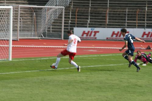 1-0 durch Steffen Moritz