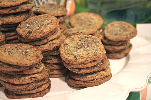 Tasting Tuesdays: Chocolate Chip Cookies with Sea Salt and Hazelnut Flour