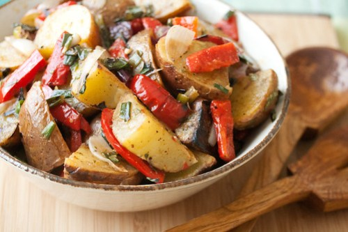 Grilled Potato Salad