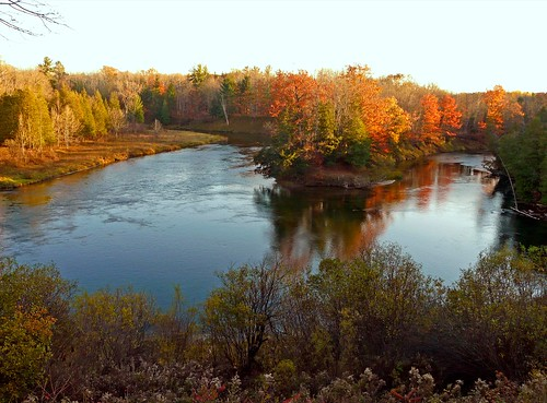 Ox Bow on the Manistee River