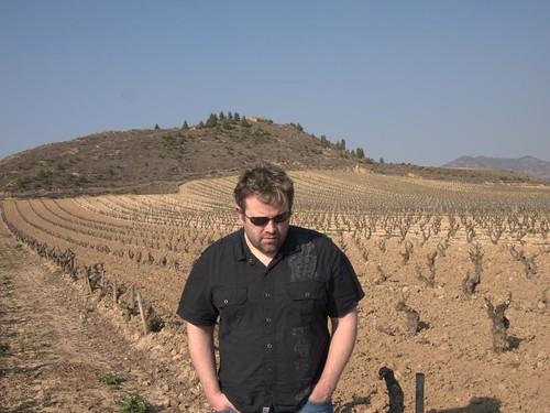 Matt Visiting Bodegas Roda