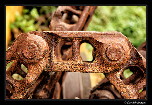Rusty Links by Dervish Images