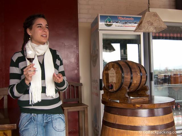 Filosofos wine tasting