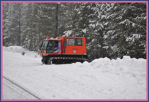 Union Pacific Crew Shuttle : Donner Pass:Ca. by Loco Steve