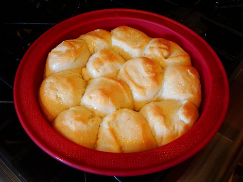 Tender White Dinner Rolls
