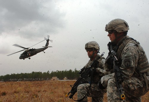 Military Police Practice Medical Evacuations [Image 2 of 3]
