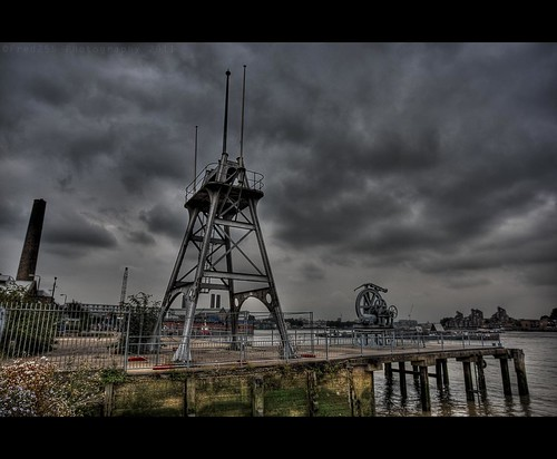 Old Part of the London Docks
