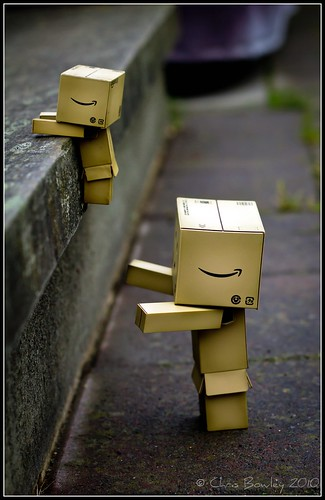 Danbo gets a push!