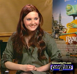 Abigail Breslin on Sidewalks TV