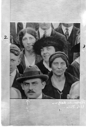 (clockwise from left): Agnes J. Quirk, Helen Morgenthau Fox (1884-1974), and Florence Hedges (1878-1956)