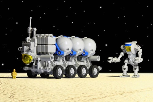 NCS Helium-3 Transport Rover