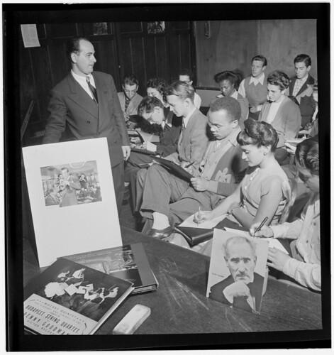 [Portrait of Arthur Aaron, ca. July 1947] (LOC)