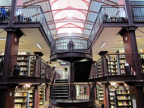 1730 Cape Town public library interior