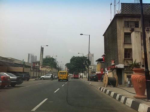 Broad Street - Lagos Nigeria by Jujufilms