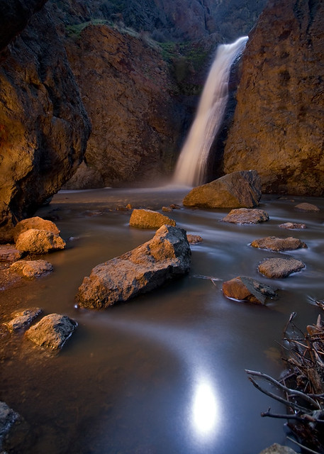 Jump Creek Falls Light Painted A Friend And I Went To Jum Flickr Photo Sharing