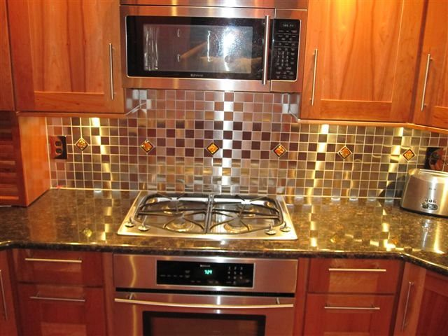 Cheap kitchen backsplash uk. crystal glass stickers hand painting ...