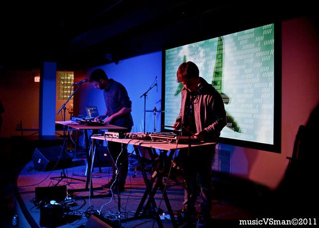 Mount Kimbie @ The Luminary Center - 03.27.11