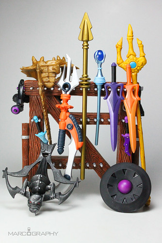 Weapons Rack, Mighty Weapon Rack of Castle Grayskull