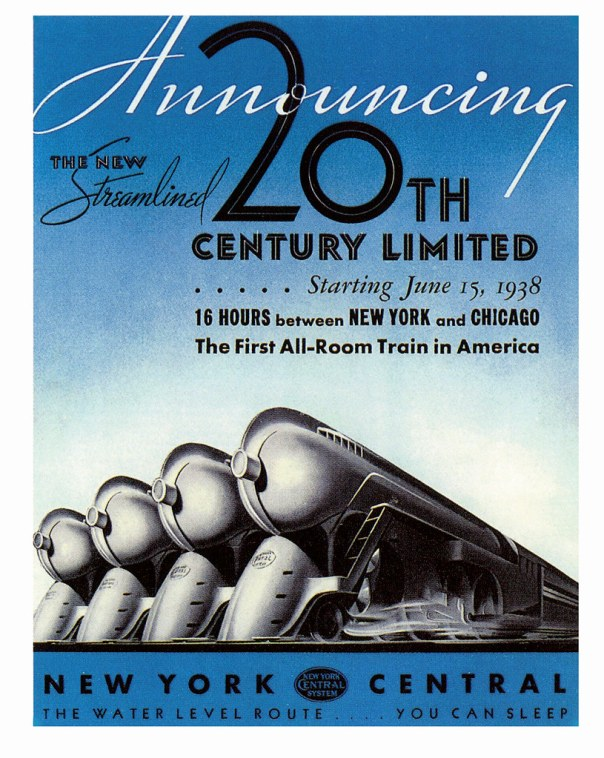 New York Central System - 1938