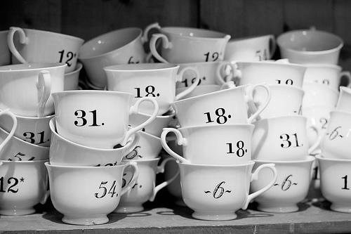 Numbered Cups