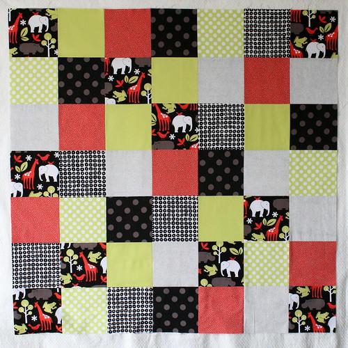 Square Patchwork Quilit