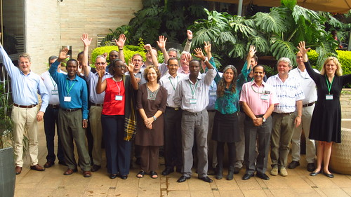 Participants at the research planning for rainfed systems Strategic Research Program (SRP) and Ecosystem Crosscutting Theme workshop (Credits: Ewen Le Borgne/ILRI)