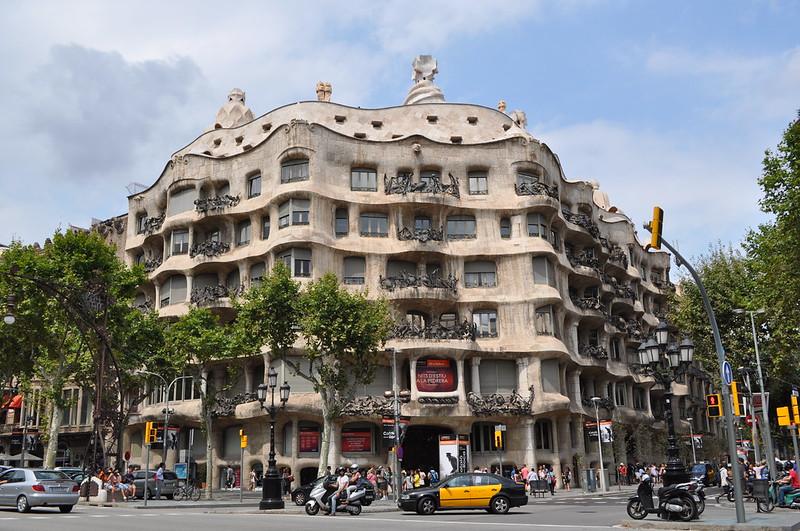 BARCELONA - Casa Milà 'La Pedrera'