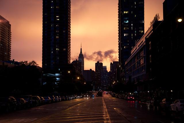 Sunset + Storm