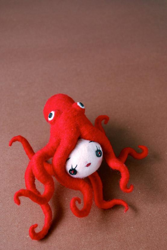 Octopus Girl (work-in-progress)