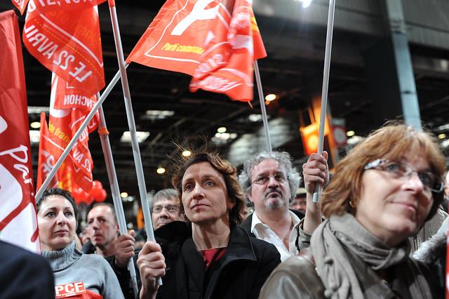 Mélenchon, dernier meeting de campagne - © Razak