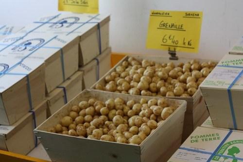 Pommes de terres primeur de noirmoutier ma p 39 tite cuisine - Comment cuisiner les pommes de terre de noirmoutier ...