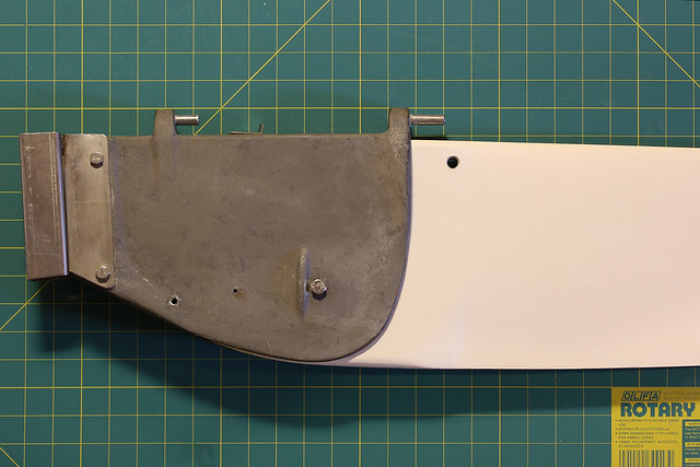 P-Cat Rudder Assembly