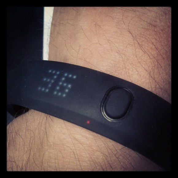 Taking this for a spin. #fuelband