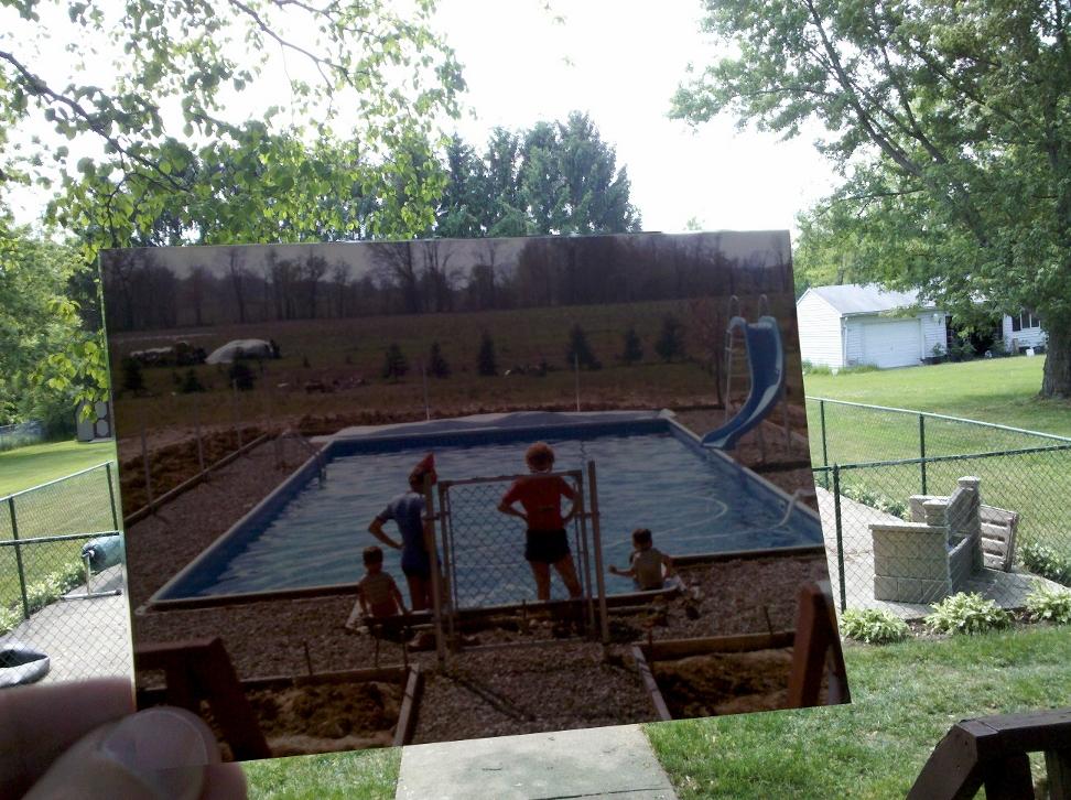 Ohio backyard
