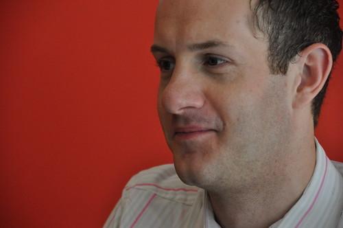James Draper of the Manchester Children's Book Festival