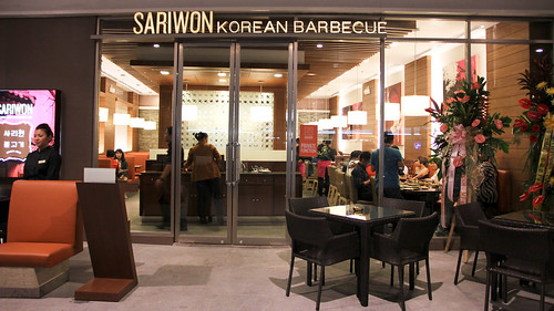Outside Sariwon Korean Barbecue