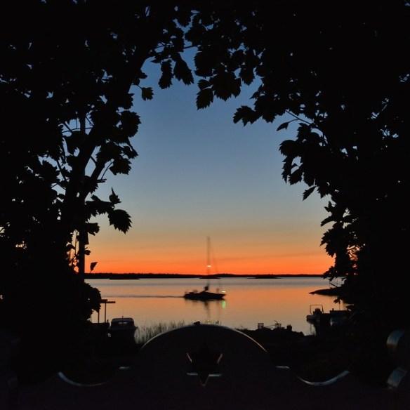 Gate towards midsummer twilight