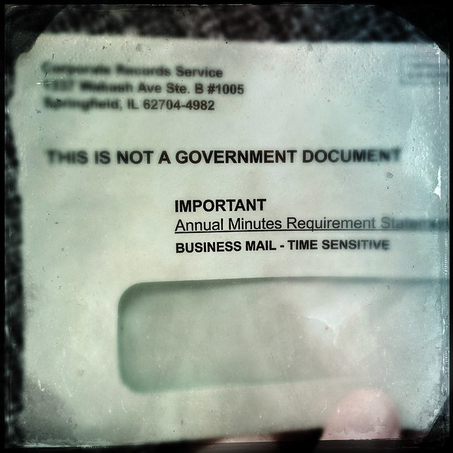 This Is Not A Government Document