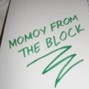 MOMOY FROM THE BLOCK-Wreck This Box graffiti