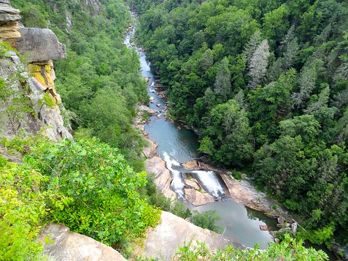 Bridal Veil Falls - Ga by waterfallshiker