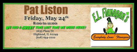 Pat Liston 5-24-13