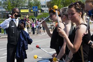 Busschafför & Kiriaka @ Göteborgsvarvet