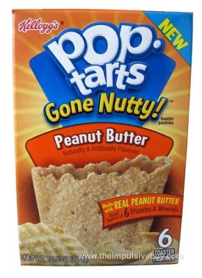 Pop-Tarts Gone Nutty! Peanut Butter
