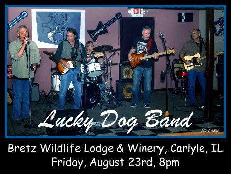 Lucky Dog Band 8-23-13