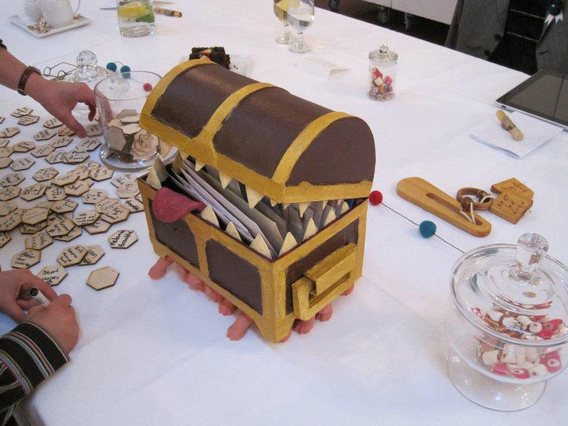 The Luggage from Terry Pratchett's Discworld novels