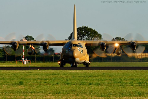 C-130 Hercules - Royal Saudi Air Force by Uflinks