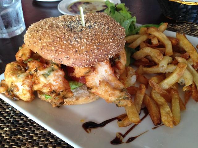 Do Brazil chicken burger