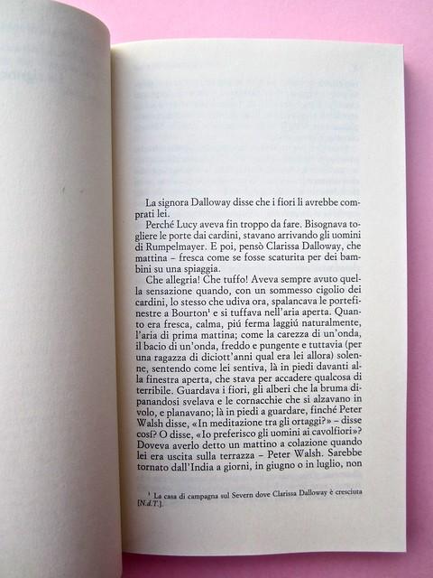 Virginia Woolf, La signora Dalloway, Einaudi 2012. Progetto grafico: 46xy. Incipit. (part.), 1