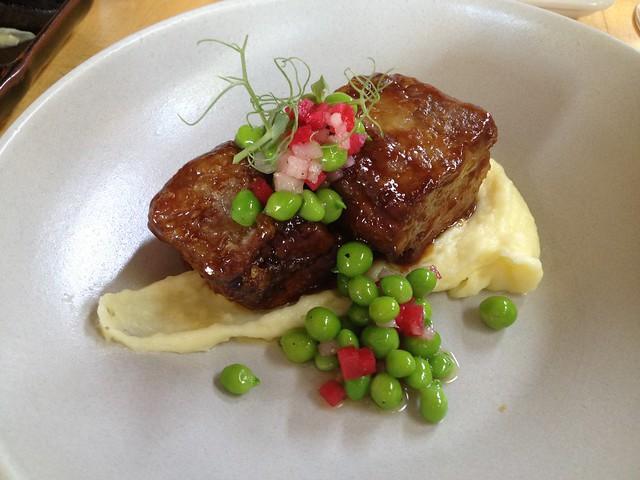 Kurobuta pork short rib - Sushi Ran